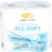 Camp4 All-Soft Toilettenpapier, 4 Rollen